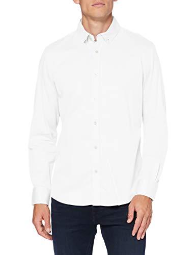 Springfield 1508067 Shirt, Blanco, S Mens
