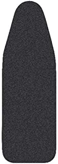 Ironing Board Cover Extra thick felt and foam underlay, 91x 32 cm (Black)