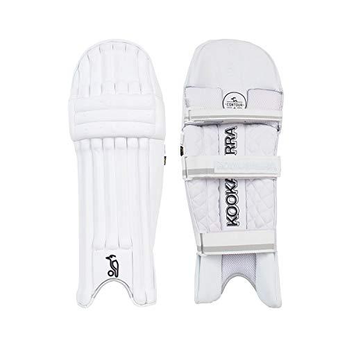 KOOKABURRA 2020 Ghost Pro Batting Pads (kleine Erwachsene, Linke Hand), weiß, Small Adult Left