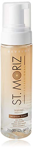 St. Moriz Professional Clear - Mousse autobronceador, 200 ml, tamaño mediano