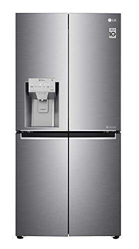 Réfrigérateur américain Lg GML844PZKV - Réfrigérateur américain - 428 litres - Réfrigerateur/congel : No Frost / No Frost - Dégivrage automatique - Inox - Fabrique de glaçons - Classe A+ / Pose libre