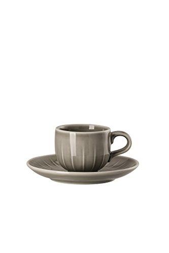 Arzberg Rosenthal 44020-640202-14715 Joyn Grau Espressotasse 2tlg (1 Set)