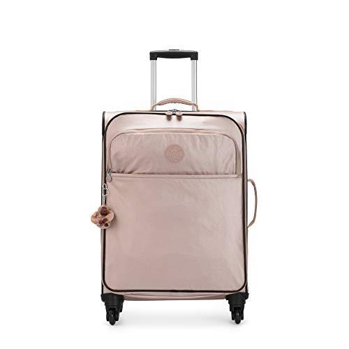 Kipling Parker Medium Metallic Rolling Luggage Quartz Metallic