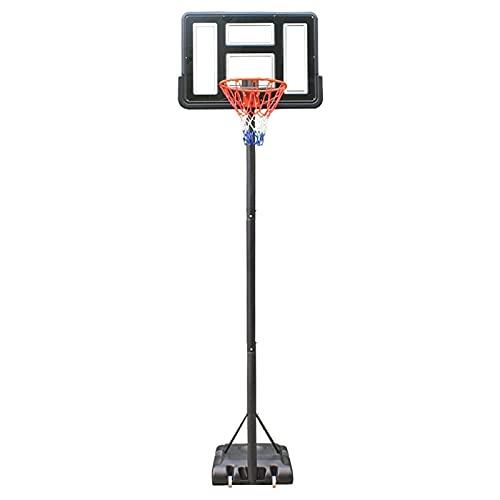 CHENXU Canasta de Baloncesto Ajustable Sistema de aro de Baloncesto portátil al Aire Libre,Ajuste de Altura 145-305cm,Entrenamiento de Baloncesto para niños Adultos con Tablero y llanta