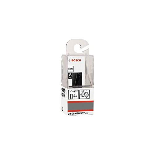 Bosch Professional Nutfräser Standard for Wood (Ø 15 mm, Arbeitslänge 19,6 mm, Zubehör Handfräse, 8mm)