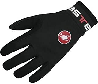 Castelli 2018/19 Lightness Full Finger Winter Cycling Gloves (black - 2XL)