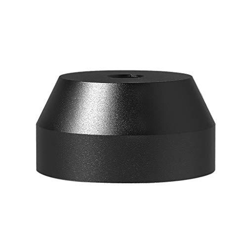 Geneic - Adattatore da 45 giri/min, in alluminio massiccio, per la maggior parte dei giradischi in...