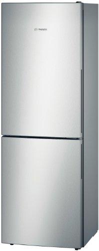 Bosch KGV33VL31S nevera y congelador Independiente Acero inoxidable 286 L A++ - Frigorífico (286 L, SN-T, 39 dB, 7 kg/24h, A++, Acero inoxidable)