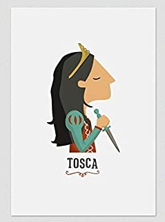 "Stampa"" Tosca"". Disponibile in due misure: A4 / A3."