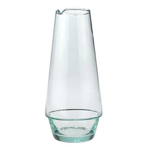 Hoogwaardige karaf van gerecycled glas - Handgemaakt & Fair Trade - 1 liter