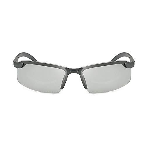 KongLyle Gafas de sol fotocromáticas para hombres, gafas de sol polarizadas con protección UV400 contra rayos azules