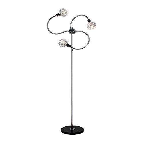GWXSST Lámpara Creativa Moderna Lámpara Minimalista cabecera Decorativa Moderna de la Sala de iluminación de la lámpara de Piso