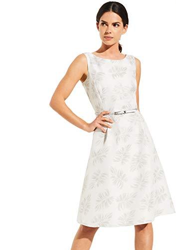 comma Damen 8T.004.82.5392 Kleid für besondere Anlässe, 90U4 Jacquard Flower, 38