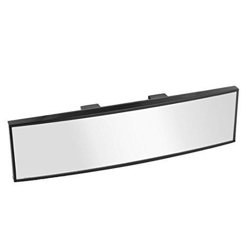 Espejo retrovisor universal para coche, de TOOGOO, curvo, uso interior, con clip, 260 x 65 mm