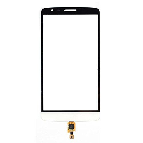 AN-JING Piezas De Repuesto Pantalla táctil for LG IPartsBuy G3 Stylus/Accesorios D690N (Color : Blanco)