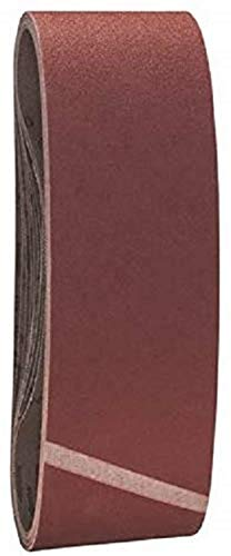 Bosch Professional Schleifband für Bandschleifer Holz und Farbe Best for Wood and Paint (10 Stück, Körnung 120, X440)