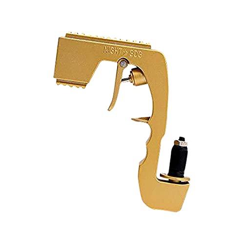 PNNIR Pistola De Champán, Pistola Rociadora De Cerveza Ajustable, Dispensador De Vino Y Cerveza para Celebraciones De Cumpleaños, Ceremonias De Boda, Fiestas En La Piscina, Oro