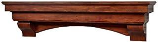 Sponsored Ad - Salem 60 inch Fireplace Mantel Shelf - Aged Cherry