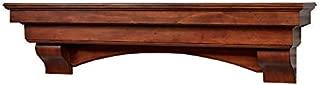 Salem 72 Inch Fireplace Mantel - Aged Cherry