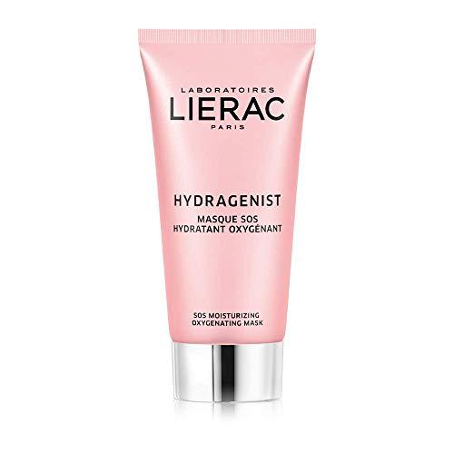 Lierac Hydragenist Maschera SOS Viso Idratante Rimpolpante con Acido Ialuronico, per Tutti i Tipi di Pelle, Formato da 75 ml
