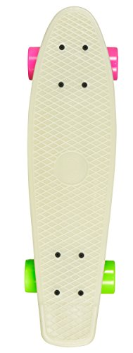 Juicy Susi Skateboard Glow in the Dark, Nude, 22.5 X 6 zoll