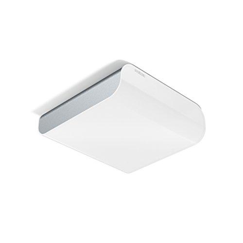 Steinel LED Deckenleuchte RS LED M2 silber, 11 W Wandleuchte, 360° Bewegungsmelder, 6 m Reichweite, Flur & Treppenhuas
