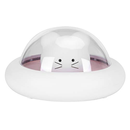 Lámpara de Mesa, Mini luz Nocturna OVNI, 3 Niveles de Brillo, cafés táctiles para Salas de Estar, dormitorios, restaurantes(Pink)