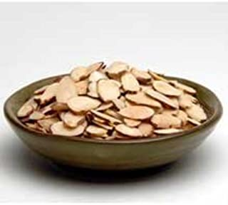 Sliced Natural Almond Nuts,2 Pound -- 3 Case by Azar Nut Company