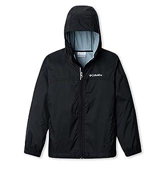Columbia Boys Glennaker Rain Jacket Black Medium