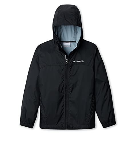 Columbia Boys Glennaker Rain Jacket, BLACK, X-Large