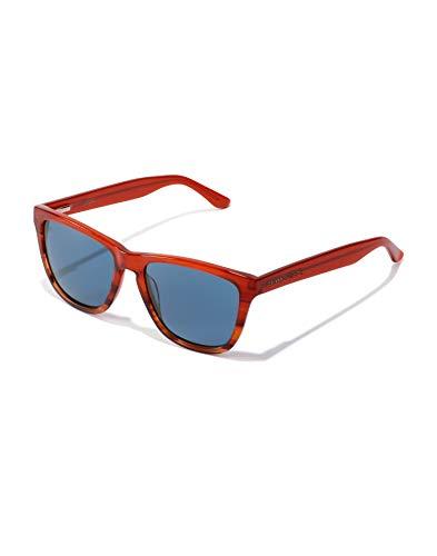 HAWKERS One X Sunglasses, Caramelo/Azul, talla única Unisex-Adult