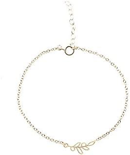 DiamondJewelryNY Double Loop Bangle Bracelet with a St Patrick Charm.