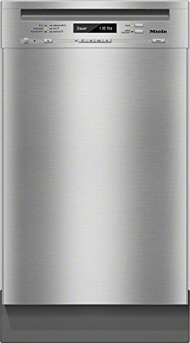 Miele G4800 SCU D ED230 2,1 CLST Unterbaugeschirrspüler/A++ / 197 kWh/Jahr / 9 MGD / 2436 Liter/Jahr/Frischwasserspüler ab 6,5 Liter Wasserverbrauch/ExtraLeise mit nur 40dB / Edelstahl/CLST