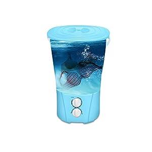 JYDQT Mini Electric Washing Machine Portable Multifunctional Socks Underwear Washing Machine Semi Automatic