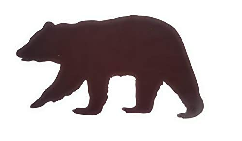 Everydecor Bear Silhouette Metal Wall Decor