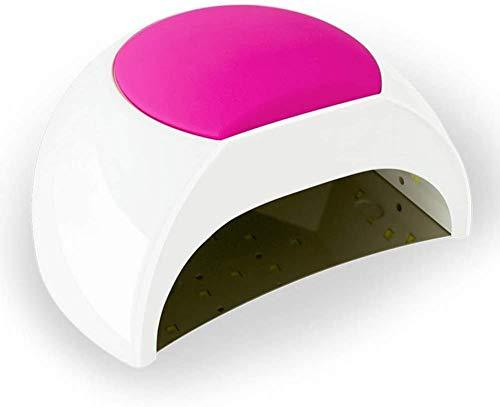 ZOUSHUAIDEDIAN Nail UV LED de la lámpara de 48W, Nail OTU la luz UV con 4 Configuración del temporizador, profesional del clavo Secador de uñas del gel, Ajuste automático del sensor-Esmalte de uñas de