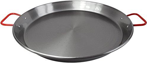 Paellapfanne Paella Pfanne aus Eisen poliert 40cm für spanische Paella