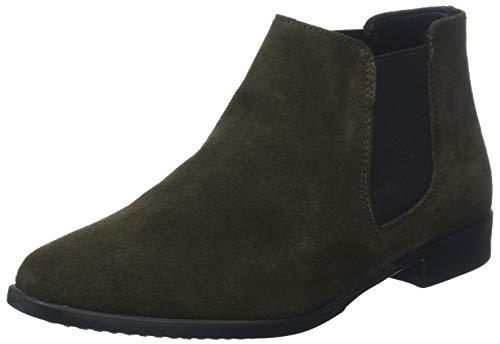 Tamaris Damen 25038-21 Chelsea Boots, Grün (Forest 710), 36 EU