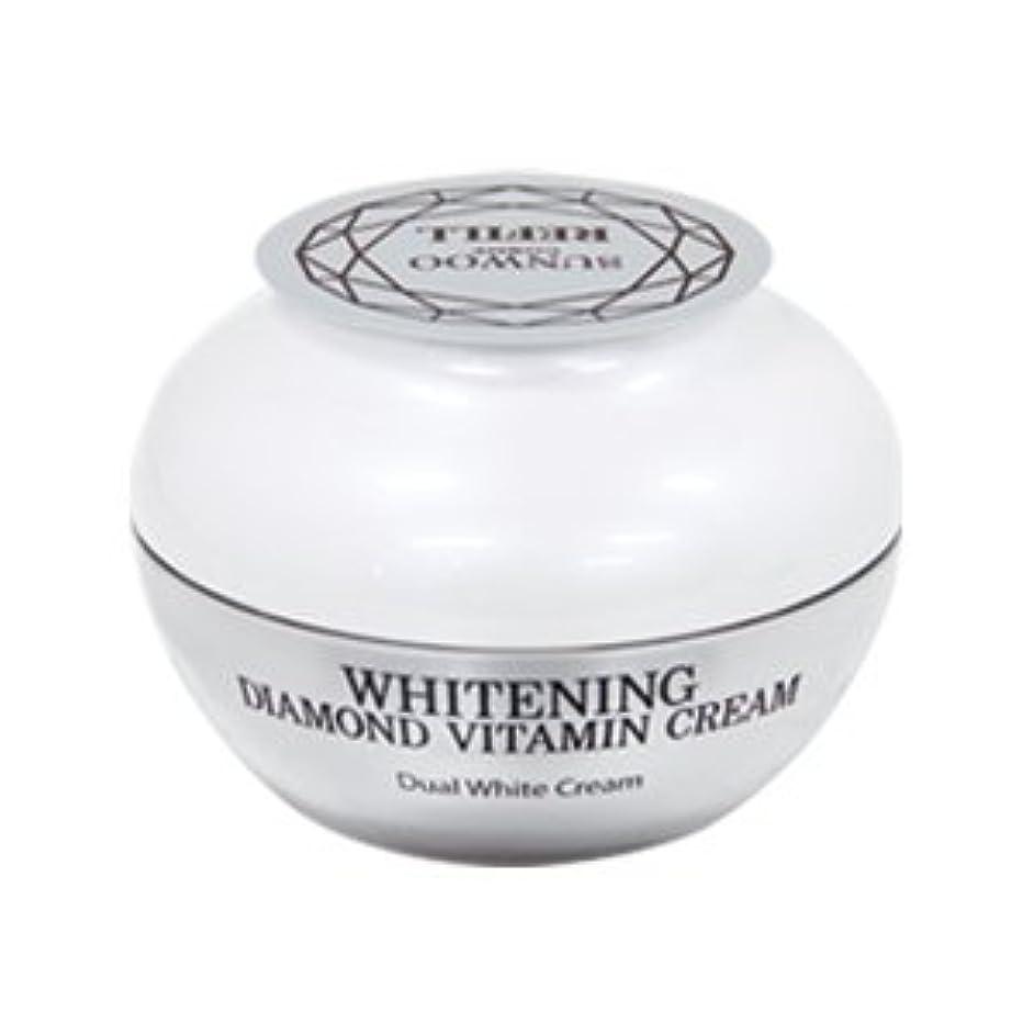 前に甲虫きらきらWhitening Diamond Vitamin Cream(詰替え)
