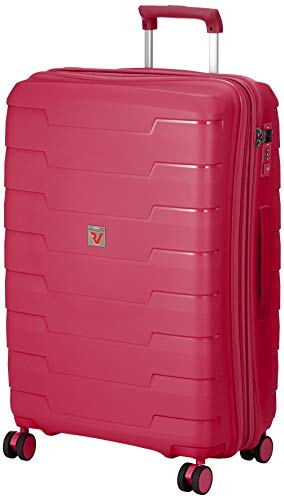 [ロンカート] スーツケース SKYLINE 保証付 80L 3.5kg ピンク