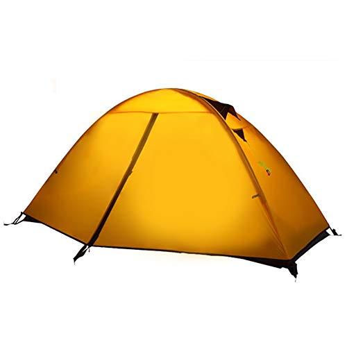 JooGoo outdoor 2-3 personen dome tent ultra lichte camping automatische dubbele rel verdikking vier seizoen tent