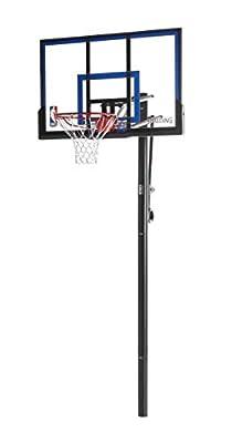 88355 Spalding 50in In-Ground Acrylic Backboard Basketball System