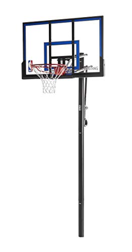 Spalding NBA In-Ground Basketball System - 50' Acrylic...