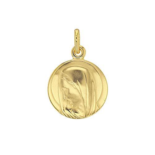Jouailla-Medalla Redonda Virgen María en Chapado en Oro (3260227)