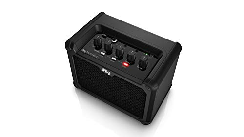 IK Multimedia iRig Micro Amp 15W Battery-Powered Guitar Amplifier with iOS/USB Interface (IP-iRig-Microamp-In)