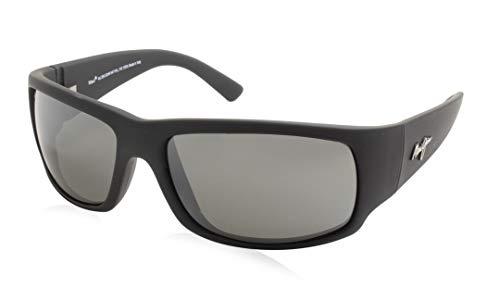 Maui Jim - Gafas de sol - para hombre Matte Black Rubber 64