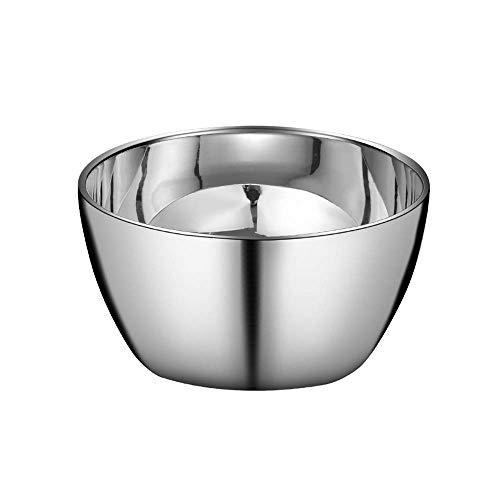 HIZLJJ 304 Stainless Steel Mixing Bowls,family youngsters's bowl,rice bowl,mixing bowl,noodle bowl,on the spot noodle bowl for Cooking,Baking,Meal Prep