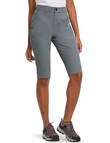 BALEAF Lightweight Women's Hiking Shorts Quick Dry UPF 50+ Slim Shorts for Hiking, Camping, Travel Dark Grey Size L
