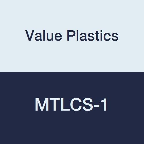 Value Plastics Max 78% OFF MTLCS-1 Male Luer White Coupler Slip Nylon 25-P trust
