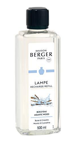 Maison Berger Paris - Recharge Lampe Berger 500 ml - Parfum Bois d'Eau